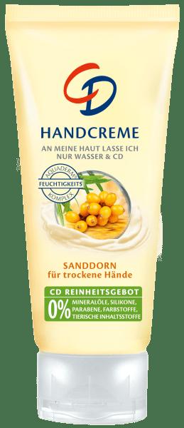 CD homoktövis kézkrém